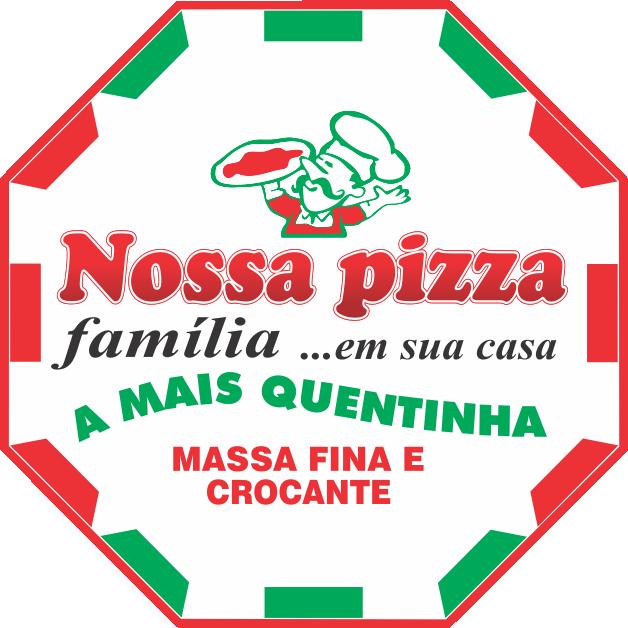 Logotipo Nossa Pizza